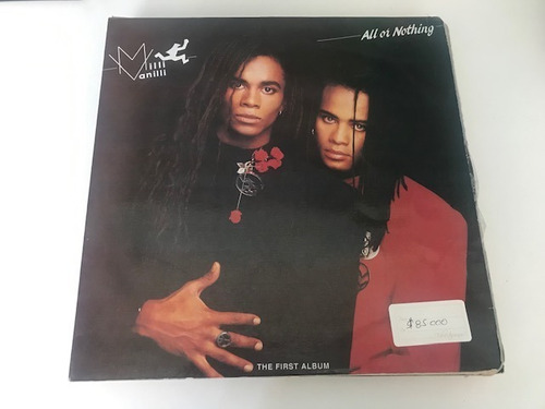 vendo lp vinilo milli vanilli, billy joel, staying alive