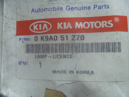 vendo luz de placa de kia claurus, # 0 k9a0 51 270