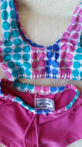 vendo malla/ traje de baño niña festta italy impecable!!