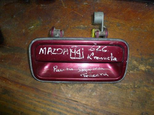 vendo manigueta trasera izquierda de mazda 626, año 1994