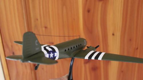 vendo maqueta avión c-47 douglas escala 1:95