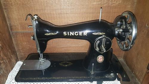 vendo máquina de costura antiga singer