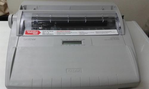 vendo maquina de escribir electrica marca brother
