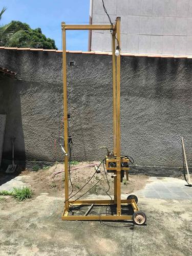vendo máquina de furar poço artesiano com hastes é uma broca