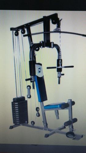 vendo maquina de gimnasio multifuncional evolution nueva
