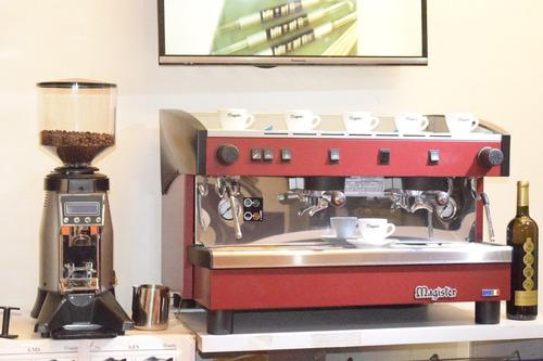 vendo máquina para café expreso y capuchino italiana marca m