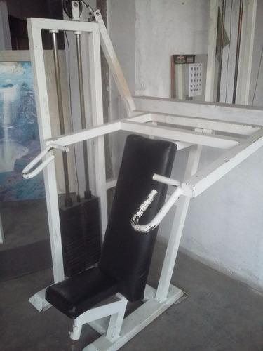 vendo maquinas de gimnasio de uso comercial ( no casero )