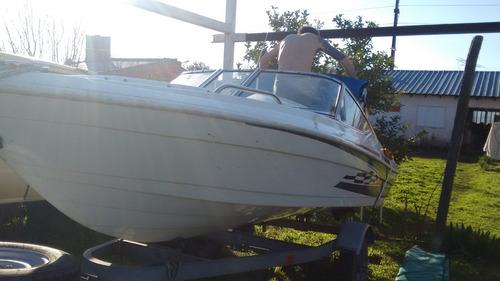 vendo mariner open 430 impecable con trailer 0km