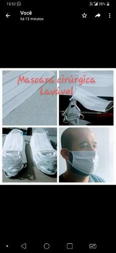vendo máscaras. cirúrgica lavável