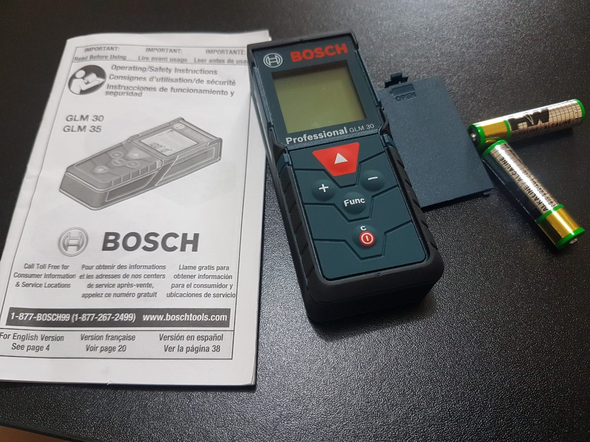 Bosch glm 30 attitude and accuracy of the pocketsize glm - Medidor laser bosch ...