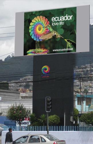 vendo mega pantalla pitch 18 de 6x3  usada ideal públicidad