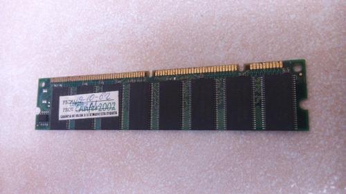 vendo memoria ram tipo dimm de 256 mb
