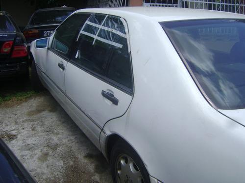 vendo mercedes benz, año 1996, s320l, gasolina, por piezas
