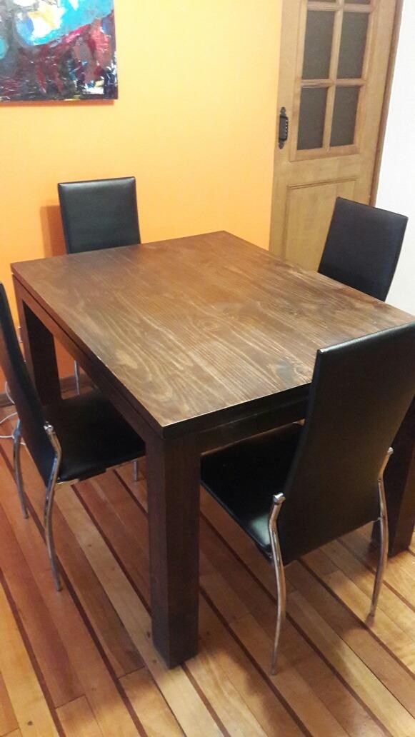 Vendo Mesa Comedor Con 4 Sillas - $ 140.000 en Mercado Libre