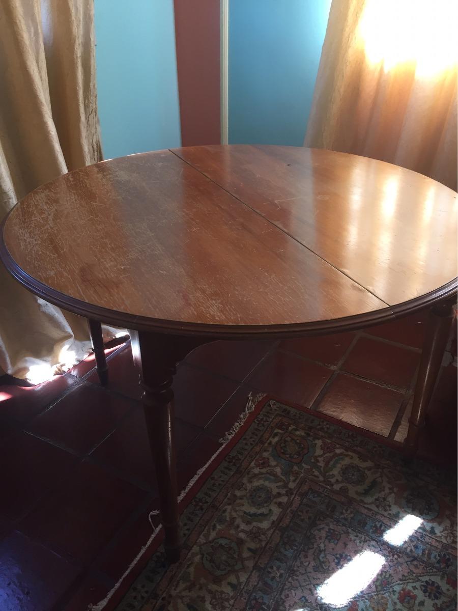 Vendo mesa comedor de madera extensible para 6 puestos for Mesa extensible de madera
