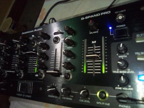vendo mezclador de audio american audio q spand pro