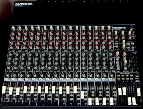 vendo: mezclador mackie cr 1604vlz. original americano.