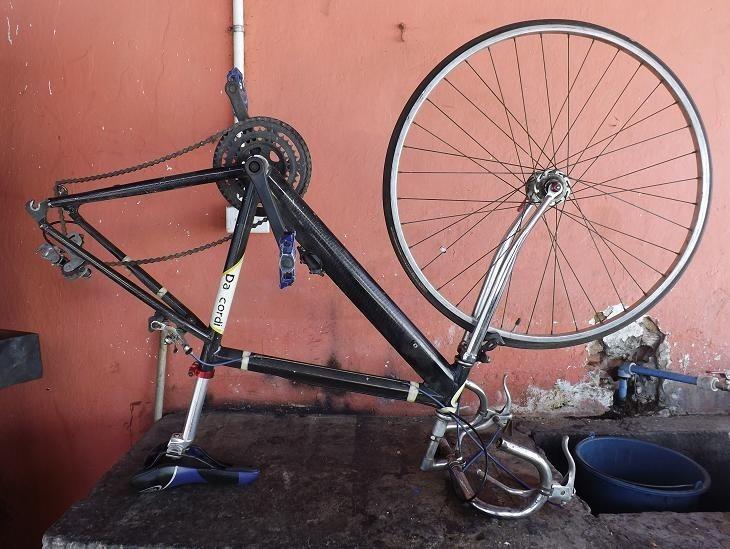 Vendo Mi Bici Hibrida Casi Ruta Cuadro Daccordi Aluminio - Bs. 120 ...