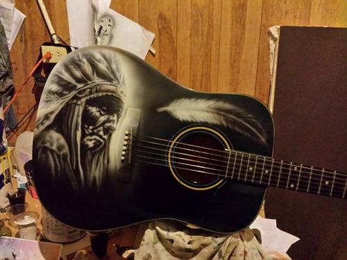 vendo mi guitarra acustica jay turser  jt-d100