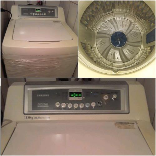vendo mi lavadora automatica marca sansum de 14k de poco uso