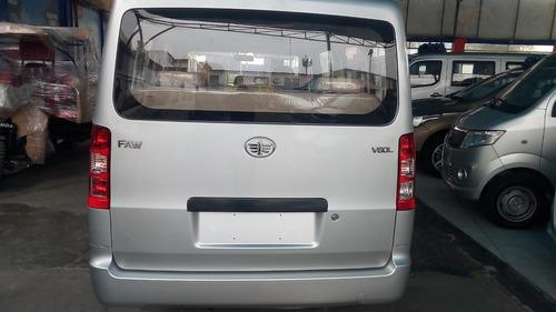 vendo minibus faw modelo actis v80 -11 pasajeros 2018