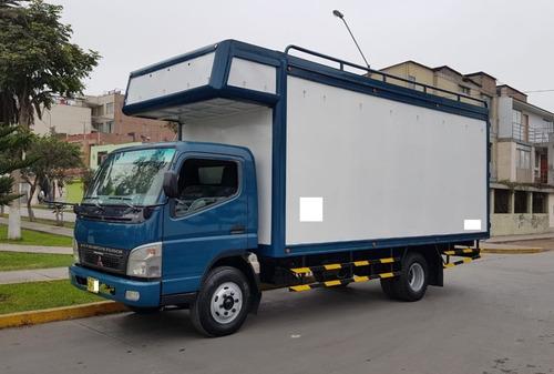 vendo mitsubishi canter 2014 con furgon seminuevo