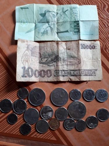 vendo moedas antigas brasileiras