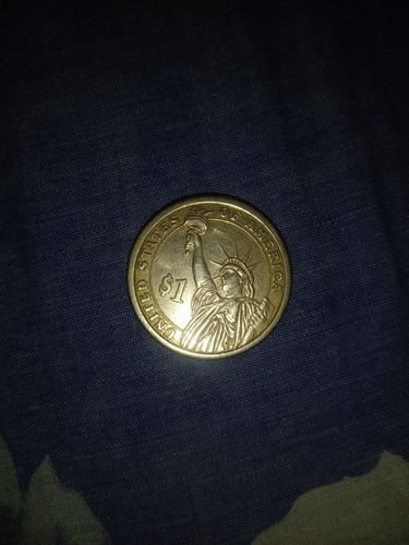 vendo moneda americana antigua de thomas jefferson de 1 dóla