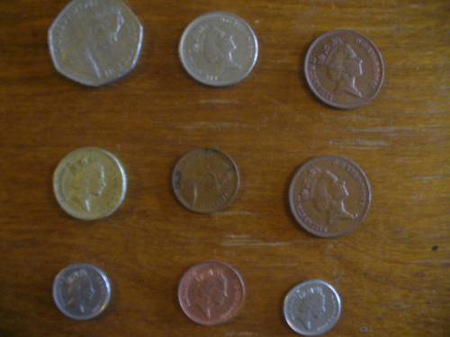 vendo monedas de inglaterra
