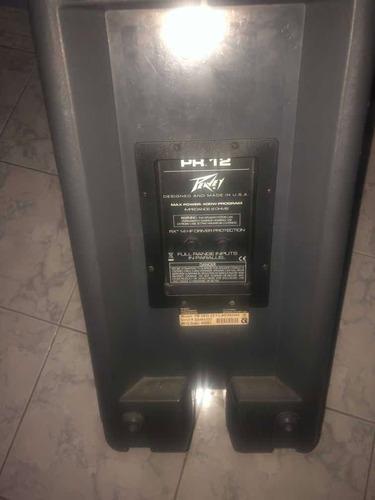 vendo monitores peavey 400 watts como nuevos