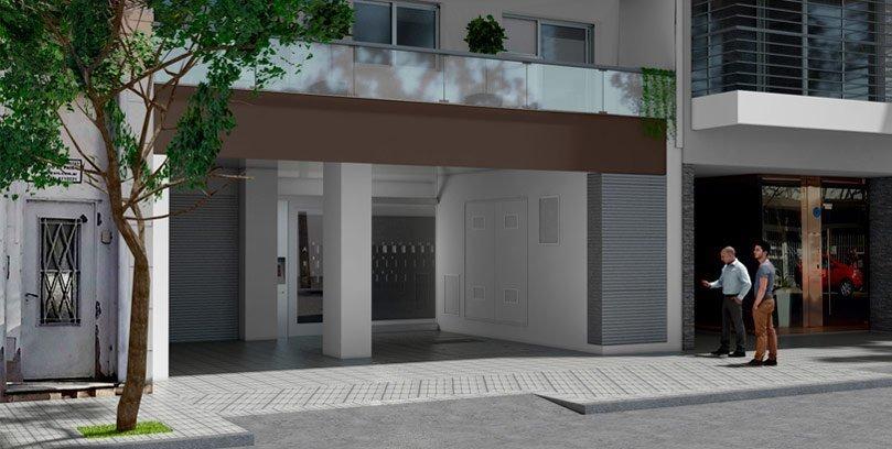 vendo monoambiente en zona centro rosario - 35 m2