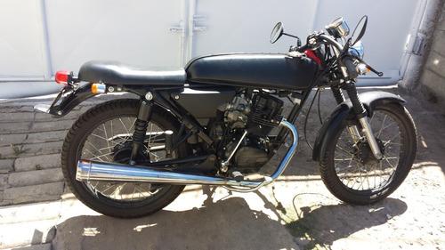 vendo moto akt 125 sl convertida a cafe racer
