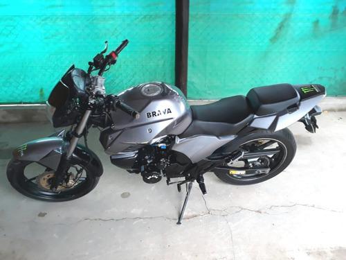 vendo moto brava aquila 200 año 2014
