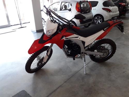vendo moto corven 250 2017 1 mano-cross-