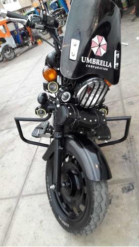 vendo motocicleta custom /  chopper / superligth