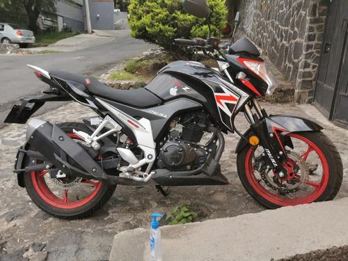 vendo motocicleta italika 250z 2018