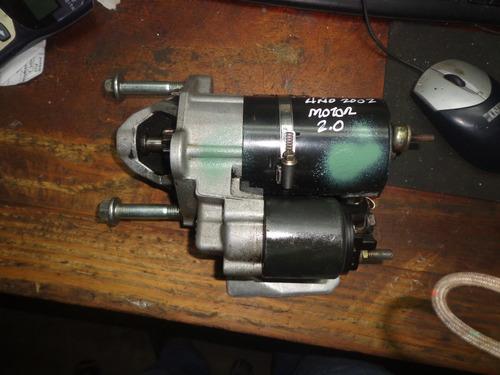 vendo motor de arranque de audi a4, año 2002, motor 2.0
