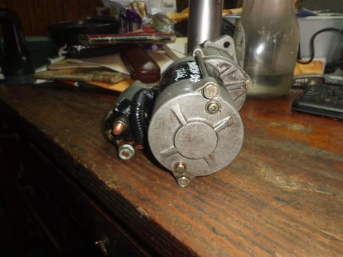 vendo motor de arranque de hyundai terracan año 2005