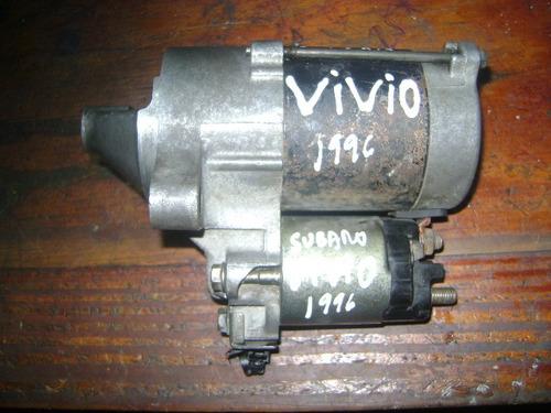 vendo motor de arranque de subaru vivio,año 1996
