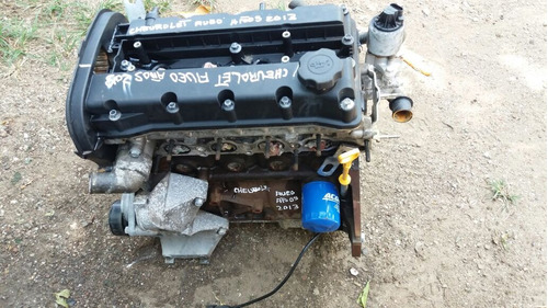 vendo motor de chevrolet aveo año 2013