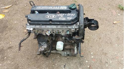 vendo motor de kia rio, año 2001