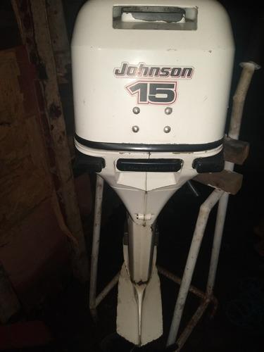 vendo motor de poupa 15 hp da johnson