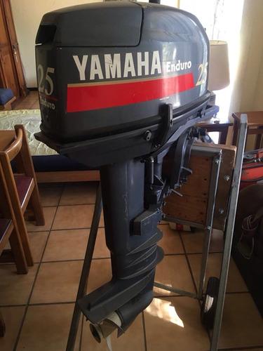 vendo motor enduro yamaha 25 hp