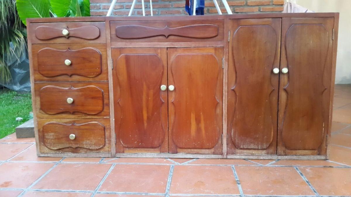 Vendo Muebles De Cocina ! De Cedro - $ 18.000,00 en Mercado Libre