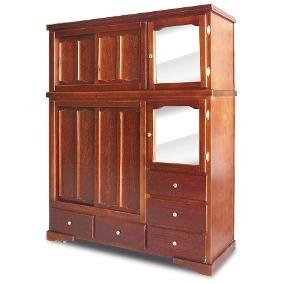 vendo muebles de madera de color