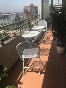 Vendo Muebles De Terraza Nuevos Dos Mesas Con Dos Sillas