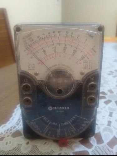 vendo multímetro honor modelo te - 620
