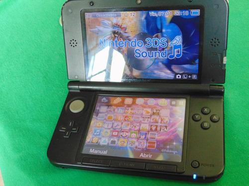 vendo nintendo 3ds xl msd 8 gb y juegos digitales con chip