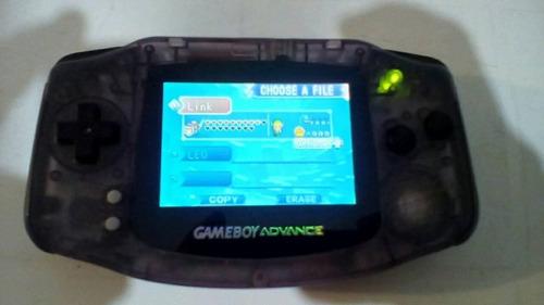 vendo nintendo game boy advance, con pantalla de ags-101
