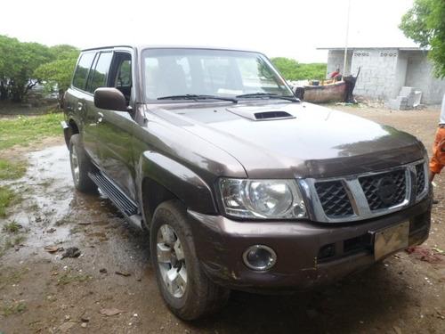 vendo nissan patrol, año 2007, diesel, motor 3.0, por piezas
